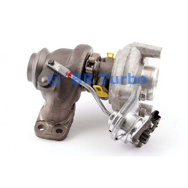 Taastatud turbokompressor CITROEN Berlingo II 1.6 Hdi