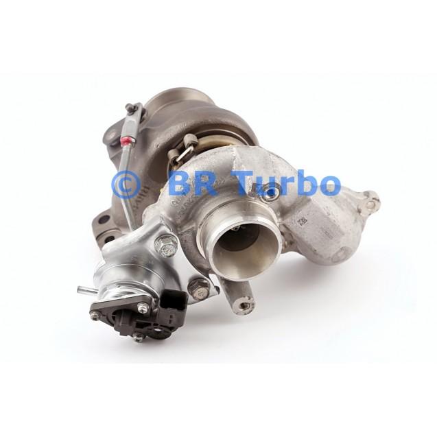Taastatud turbokompressor FORD Fiesta 1.6 TDC