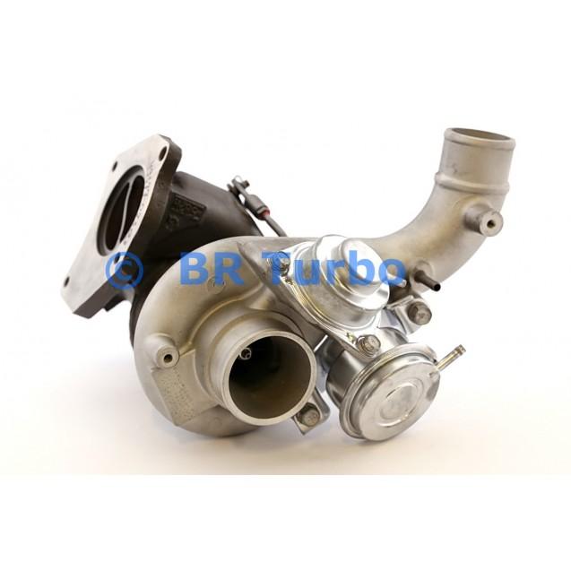 Taastatud turbokompressor RENAULT Laguna II 2.0 16V Turbo