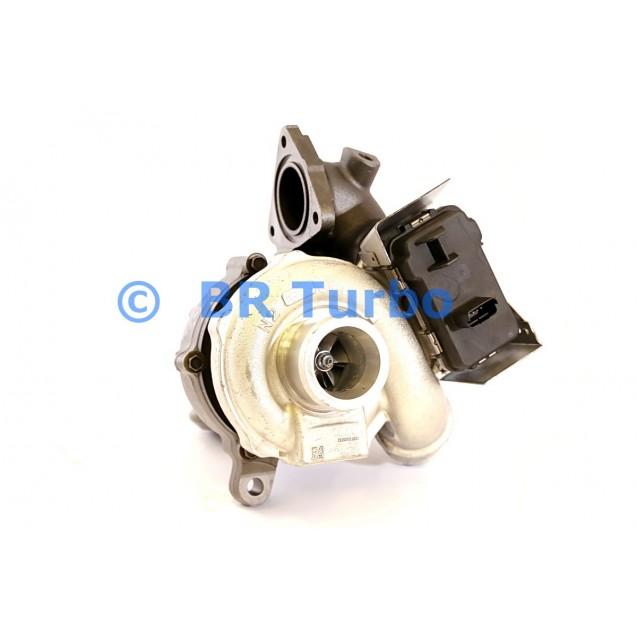 Taastatud turbokompressor FORD S-Max 2.2 TDCi