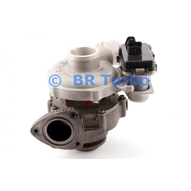 Taastatud turbokompressor LAND ROVER Freelander II 2.2 SD4