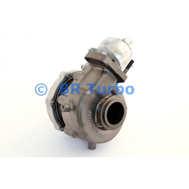 Taastatud turbokompressor MITSUBISHI | 4947701510RS