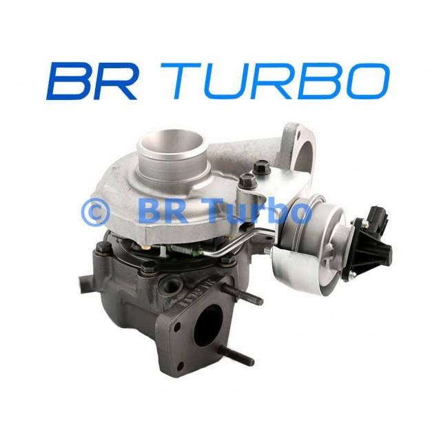 Taastatud turbokompressor MITSUBISHI   4947701610RS