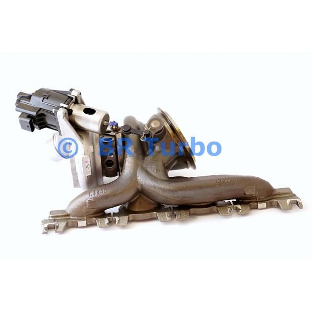 Taastatud turbokompressor BMW X2
