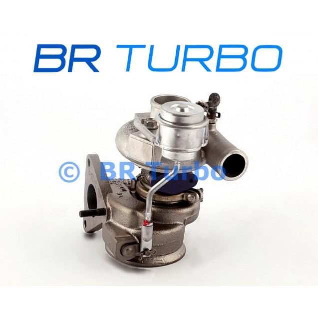 Taastatud turbokompressor FORD Focus II 1.6 TDCi