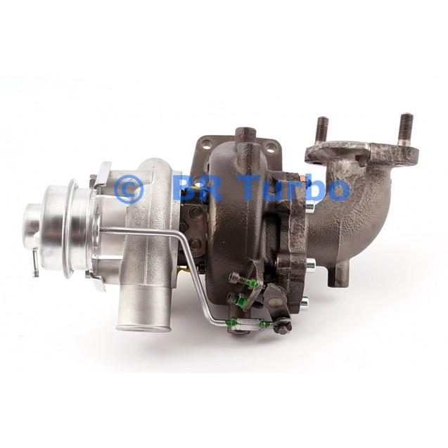 Taastatud turbokompressor MITSUBISHI Pajero III 2.5 TDI