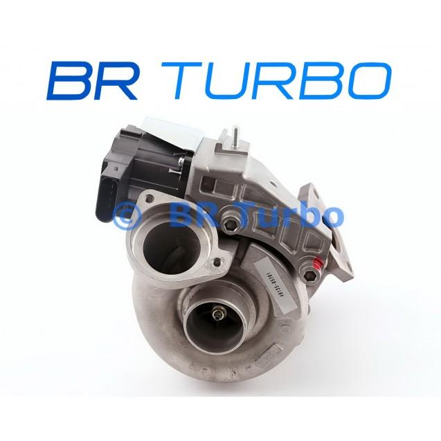 Taastatud turbokompressor BMW 318 D 1.9 D (E90/E90N/E91/E91N)
