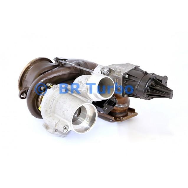 Taastatud turbokompressor MITSUBISHI | 49U7702126RS