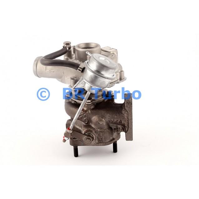 Taastatud turbokompressor AUDI A4 1.9 D