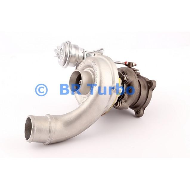 Taastatud turbokompressor RENAULT Laguna I 1.9 dTi