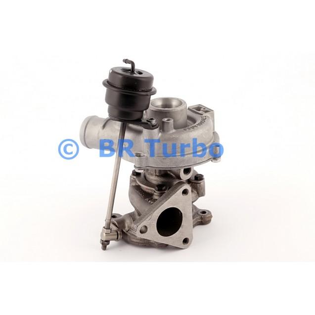Taastatud turbokompressor AUDI A3 1.9 TDI (8L)
