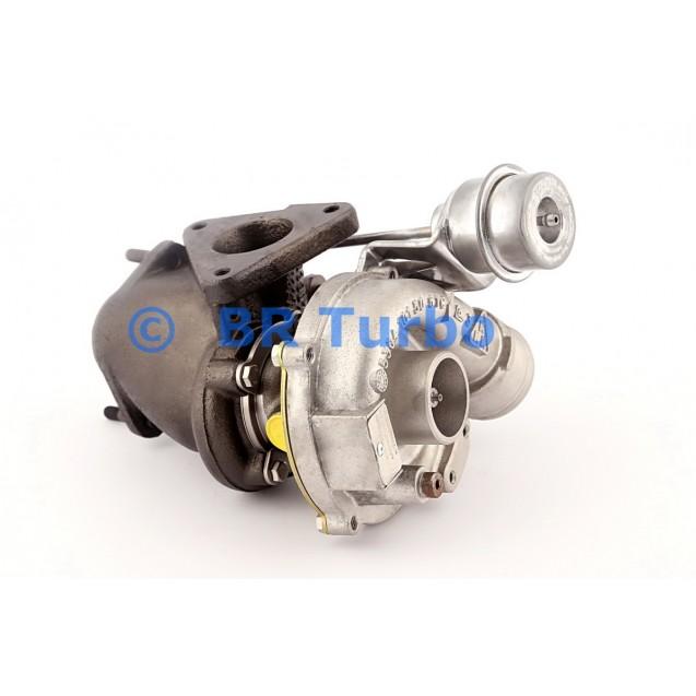 Taastatud turbokompressor MERCEDES PKW Vito 2.3 110 D (W638)