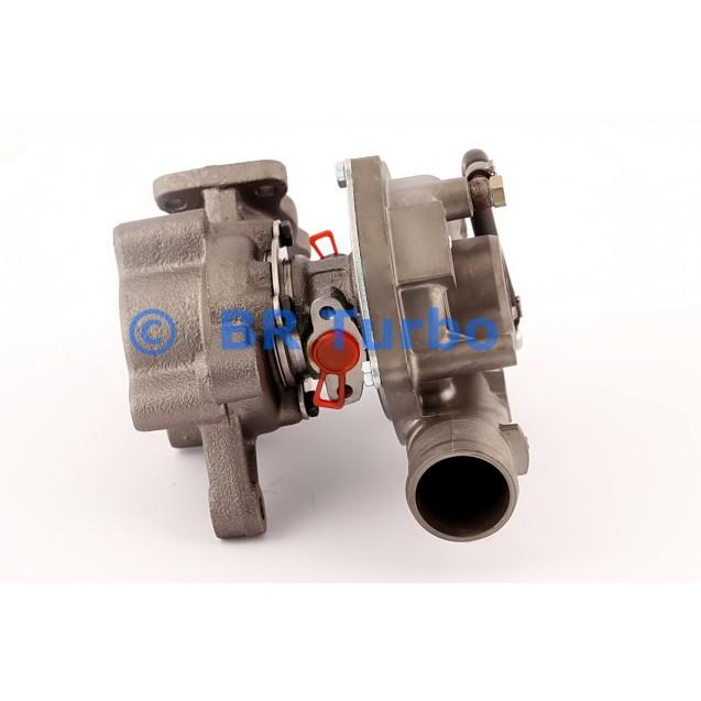 Taastatud turbokompressor PEUGEOT 306 2.0 HDi