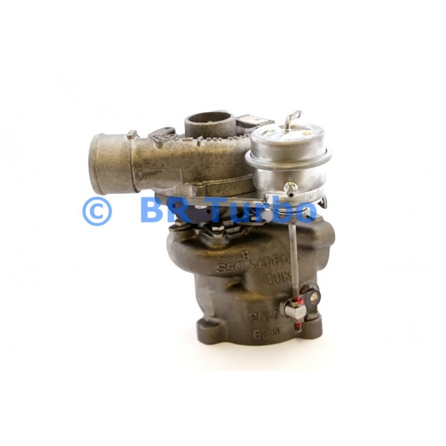 Taastatud turbokompressor AUDI A6 1.8 T
