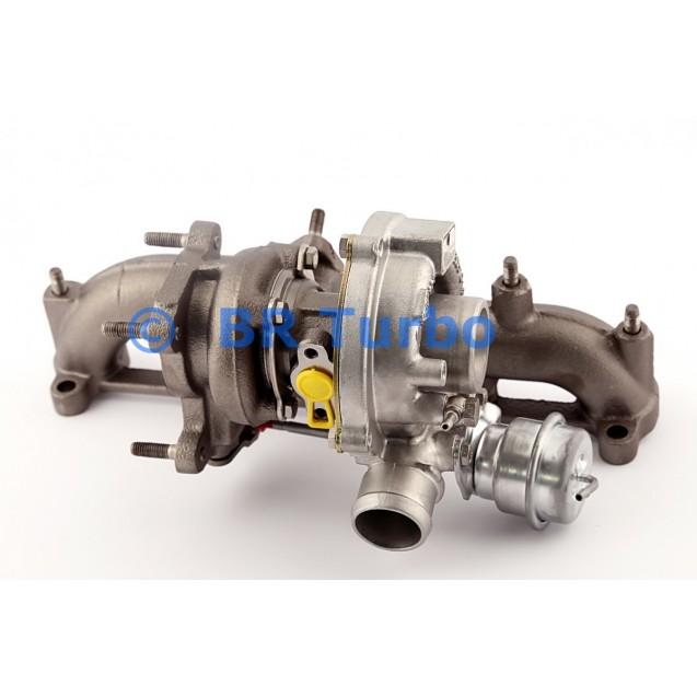 Taastatud turbokompressor FORD Galaxy 1.9 TDI