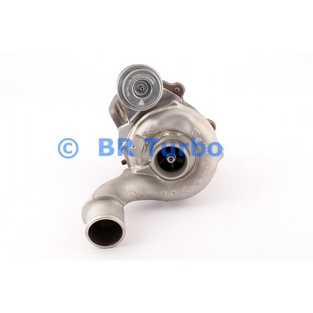 Taastatud turbokompressor RENAULT Scenic 1.9 Dci