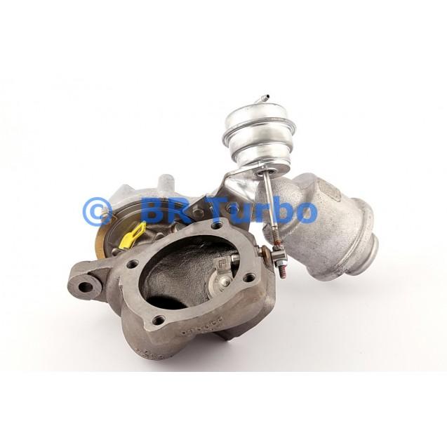 Taastatud turbokompressor BORGWARNER | 53039880052RS
