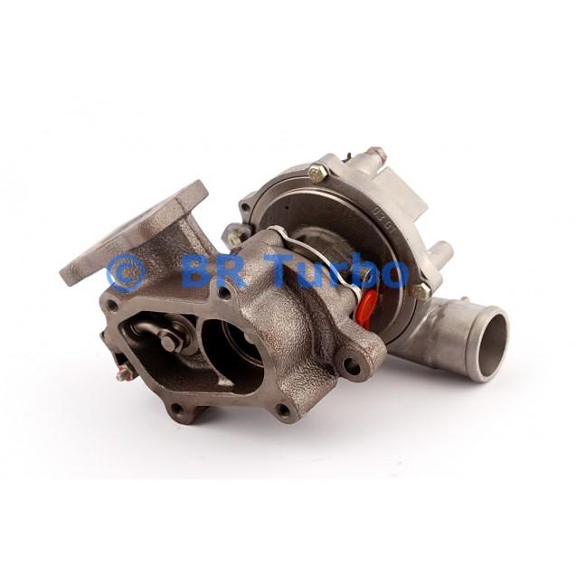 Taastatud turbokompressor CITROEN Jumper 2.2 HDi