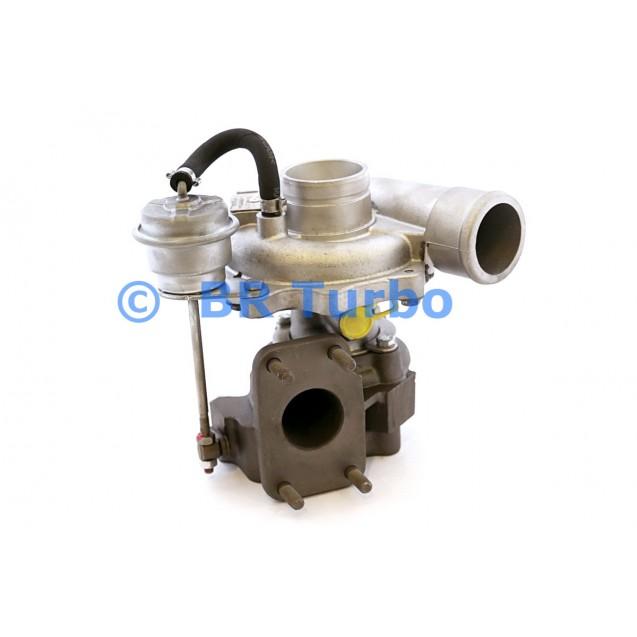 Taastatud turbokompressor IVECO Daily 2.3 DI
