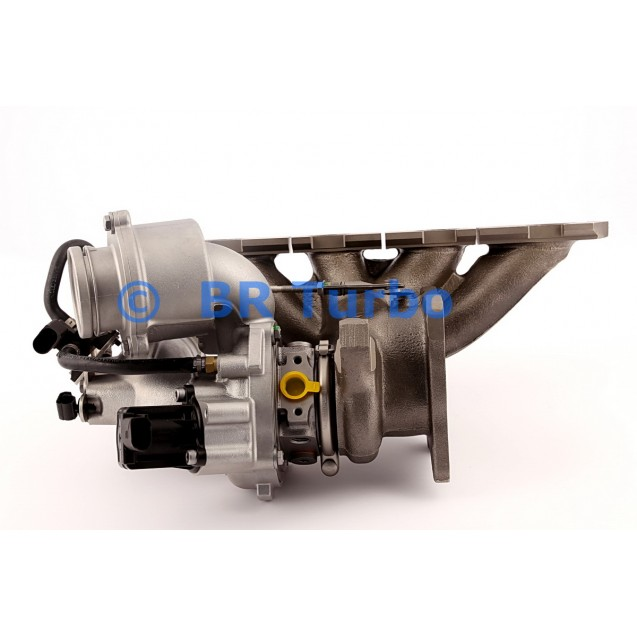 Taastatud turbokompressor BORGWARNER | 53039880105RS