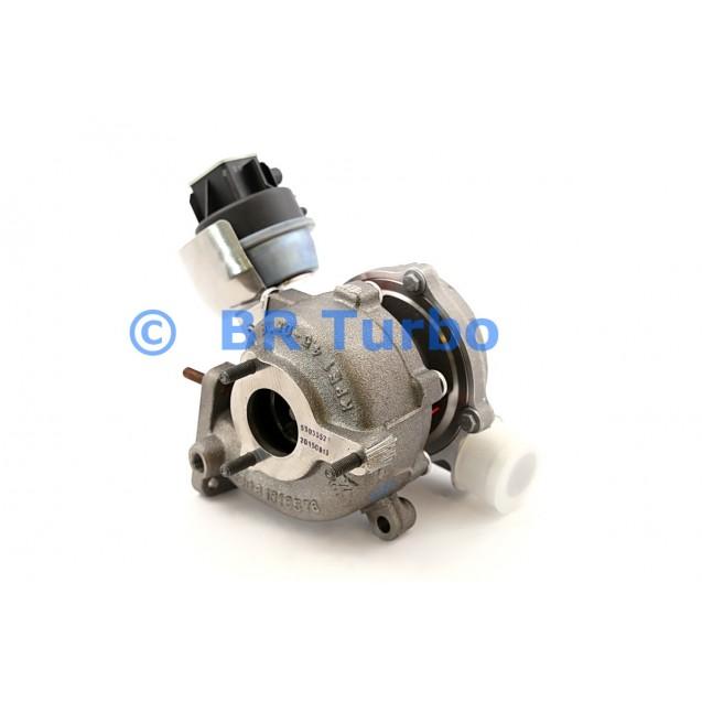 Uus turbokompressor BORGWARNER   53039880109