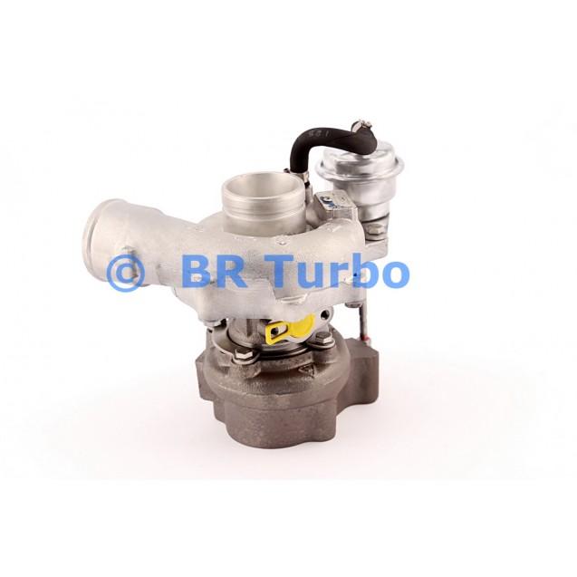 Taastatud turbokompressor IVECO Daily III 2.3