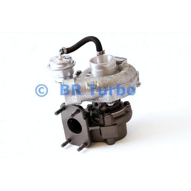 Taastatud turbokompressor BORGWARNER | 53039880115RS