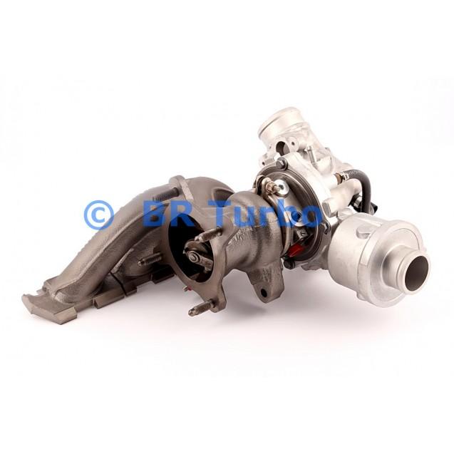 Taastatud turbokompressor BORGWARNER | 53039880141RS