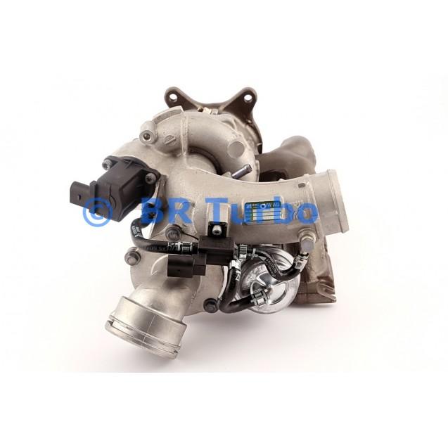 Taastatud turbokompressor AUDI A3 1.8 TFSI (8P)