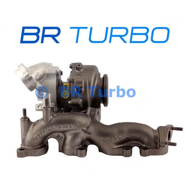 Taastatud turbokompressor VOLKSWAGEN Tiguan 2.0 TDI