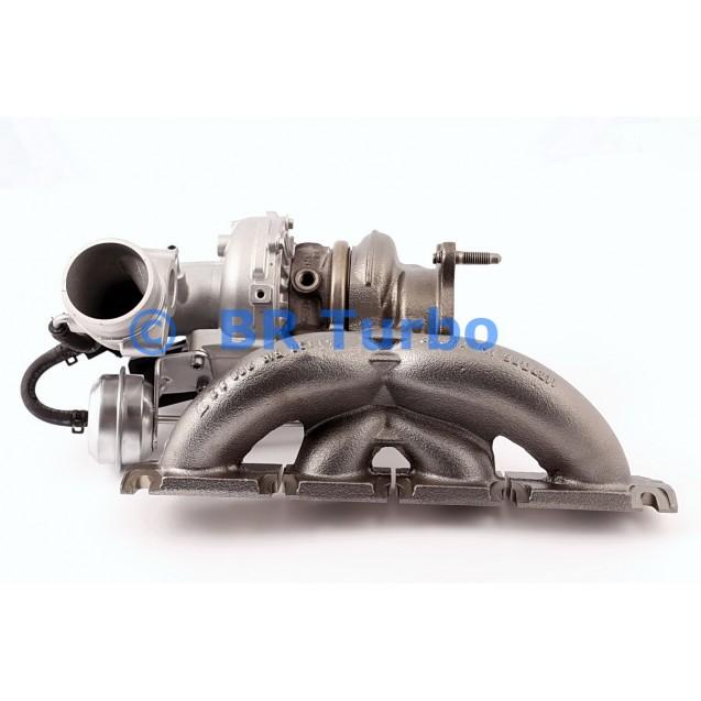 Taastatud turbokompressor AUDI A4 2.0 TFSI (B8)