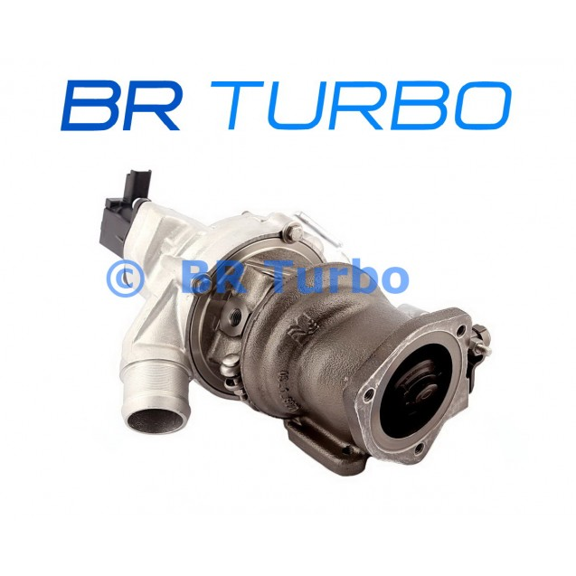 Taastatud turbokompressor PEUGEOT 5008 1.6 THP