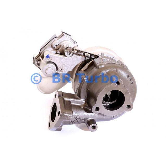 Taastatud turbokompressor BORGWARNER | 53039880432RS