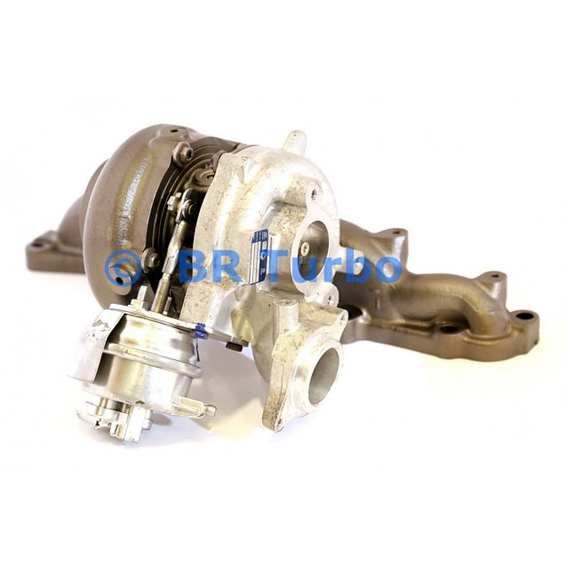 Taastatud turbokompressor AUDI A5 2.0 TDI