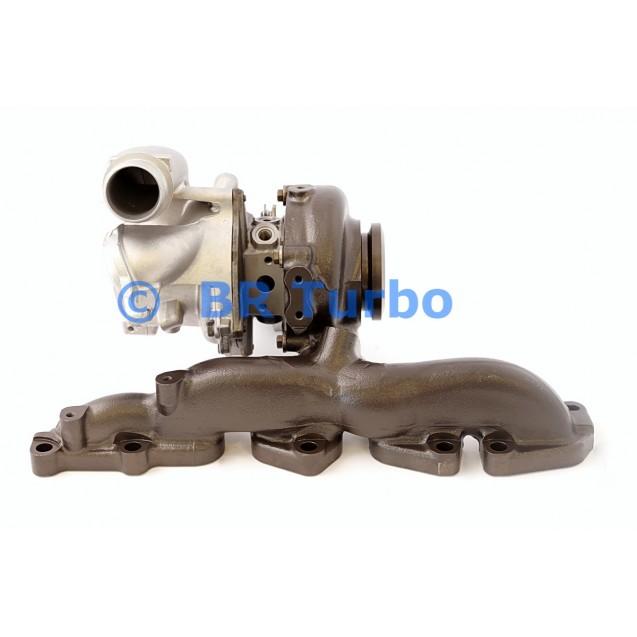 Taastatud turbokompressor BORGWARNER | 53039880543RS