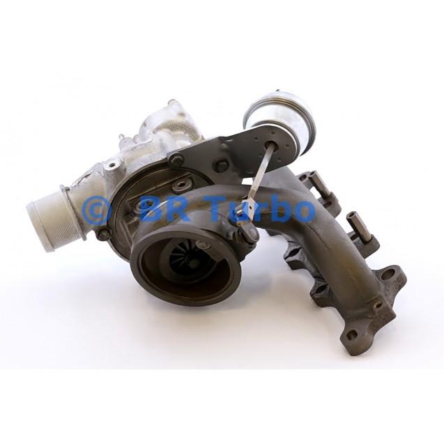 Taastatud turbokompressor BORGWARNER | 53039980110RS