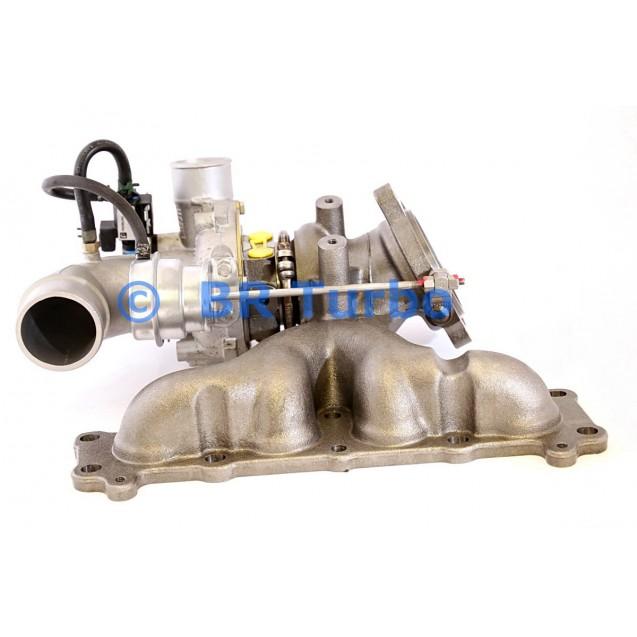 Taastatud turbokompressor LAND ROVER Freelander II 2.0 Si4