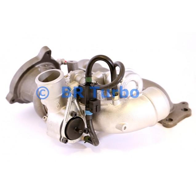 Taastatud turbokompressor FORD Galaxy II 2.0 SCTi