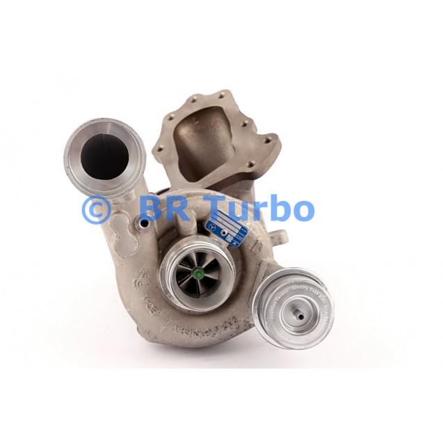 Taastatud turbokompressor BORGWARNER | 53049880086RS
