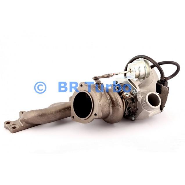 Taastatud turbokompressor FORD Mondeo IV 2.5 Turbo
