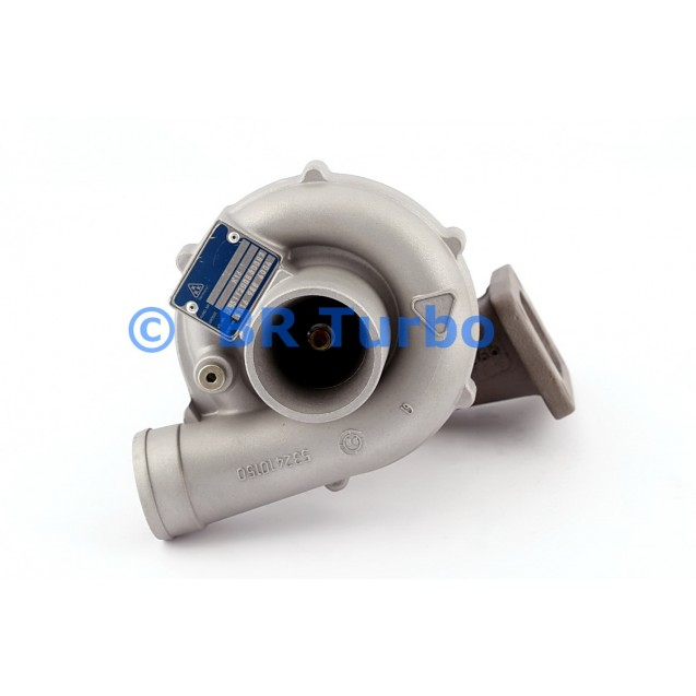 Taastatud turbokompressor MERCEDES LKW Tractor 4.1 D