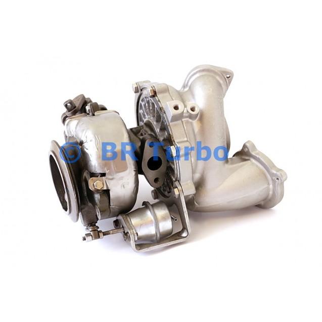 Taastatud turbokompressor BMW X3 3.0 sd (E83)