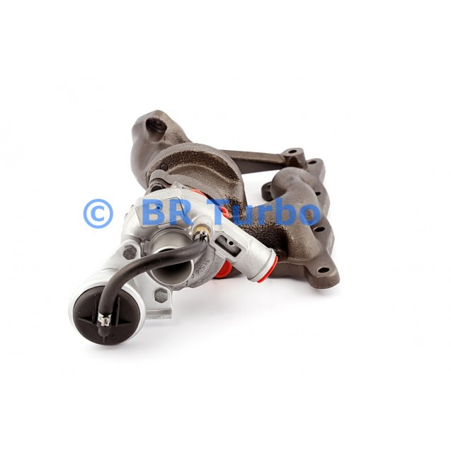 Taastatud turbokompressor BORGWARNER | 54319880000RS