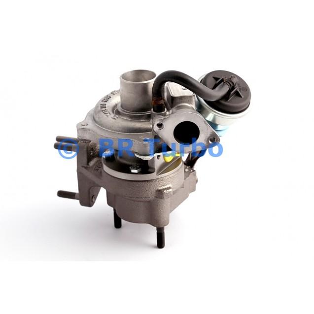 Taastatud turbokompressor FIAT Punto II 1.3 JTD