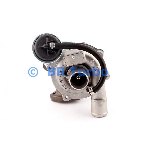 Taastatud turbokompressor OPEL Agila A 1.3 CDTI
