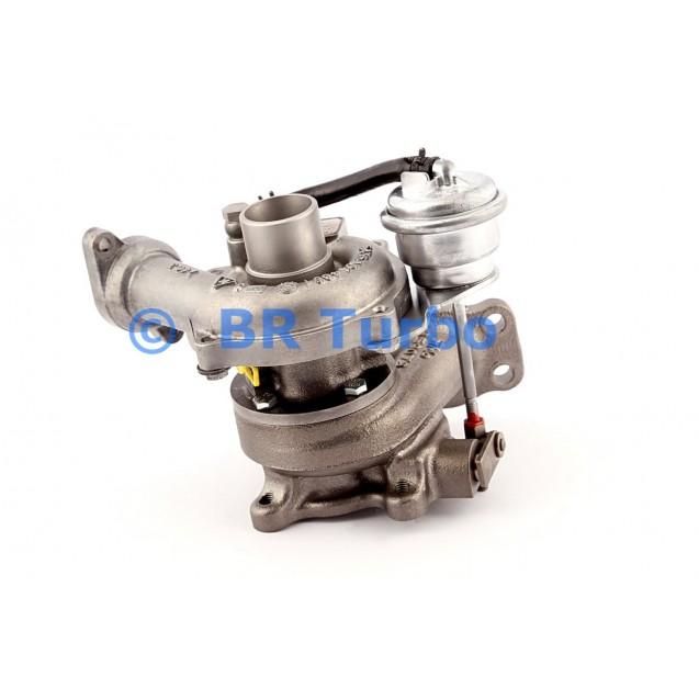 Taastatud turbokompressor CITROEN Xsara 1.4 HDi