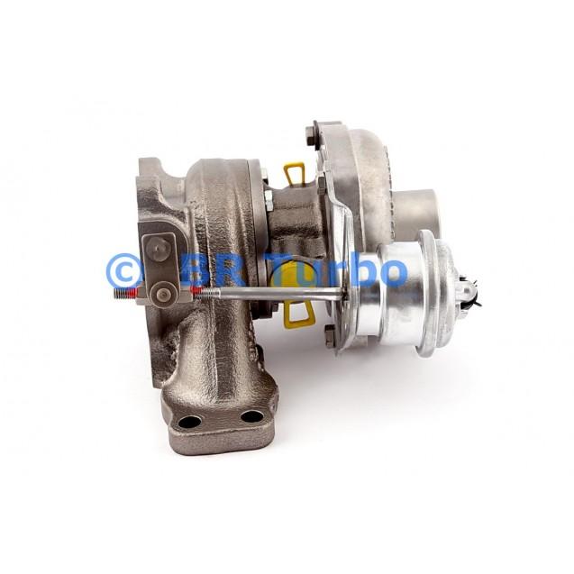 Taastatud turbokompressor CITROEN C 3 1.4 HDi