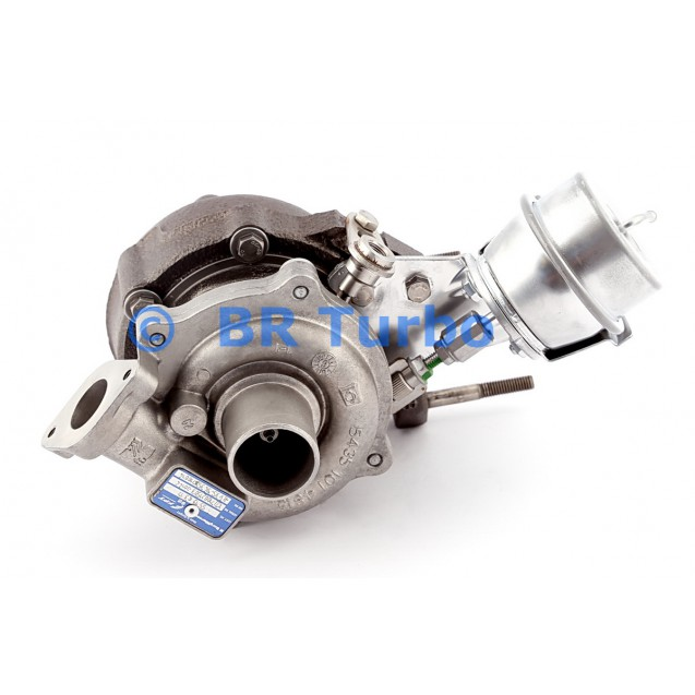 Taastatud turbokompressor FIAT Grande Punto 1.3 JTD