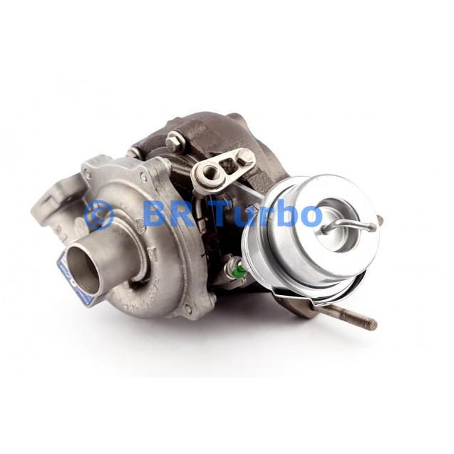 Taastatud turbokompressor OPEL Astra H 1.3 CDTi