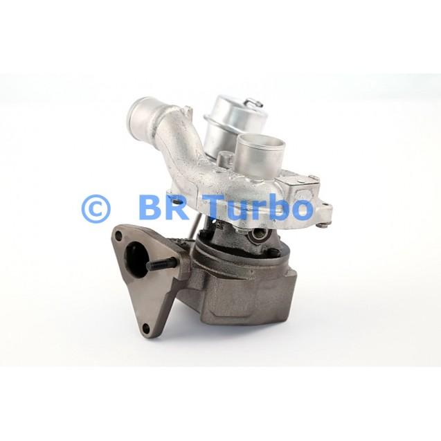 Taastatud turbokompressor RENAULT Duster 1.4 Dci